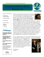 NLG September 2012 Newsletter